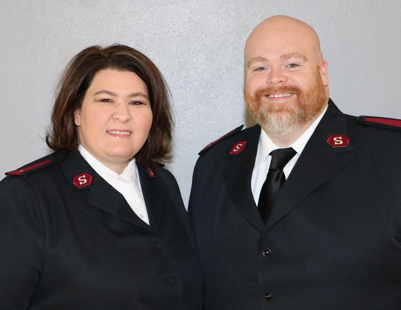Lieutenants Cheryl & David Moynihan