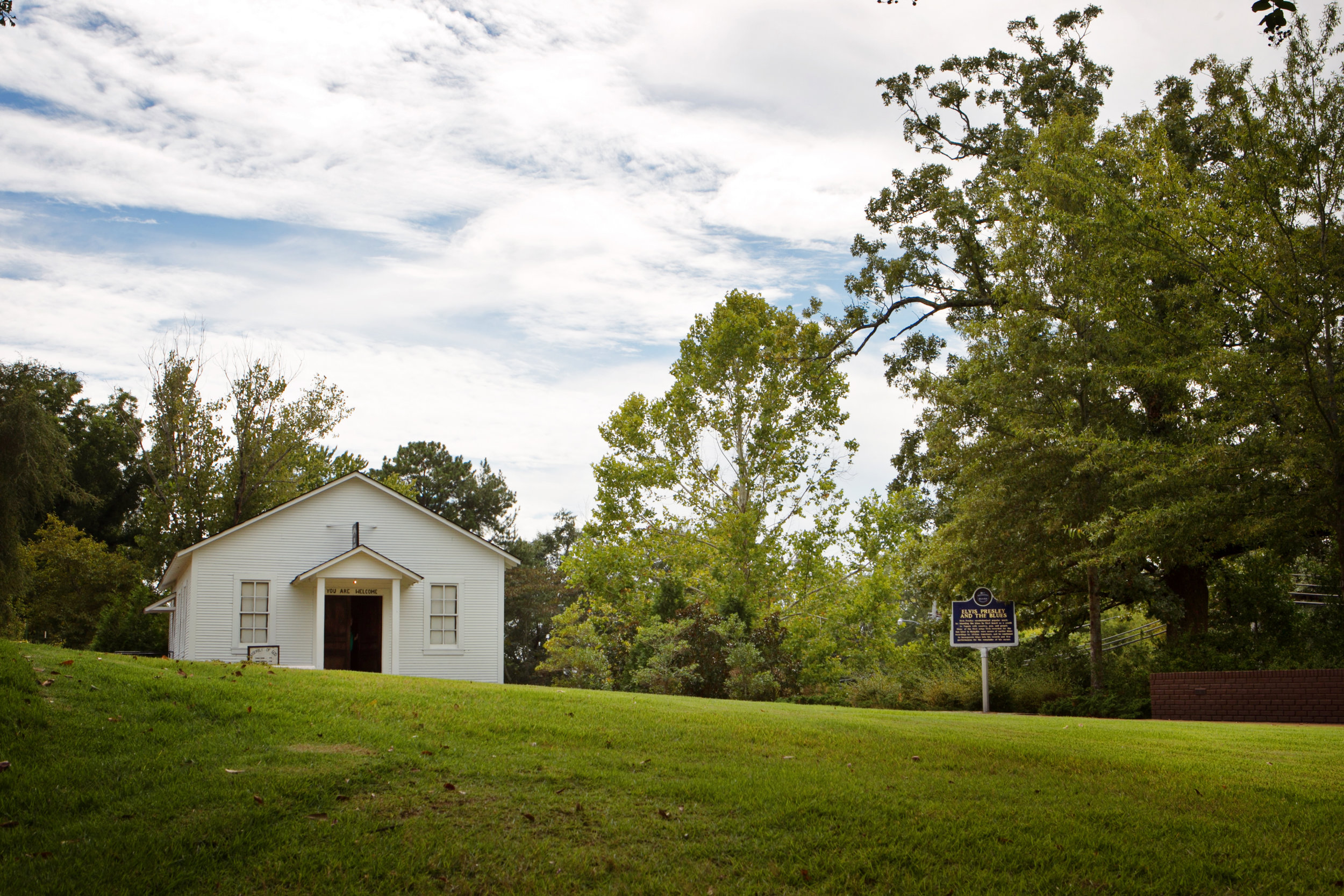 Assembly of God Church at the Elvis Presley Birthplace