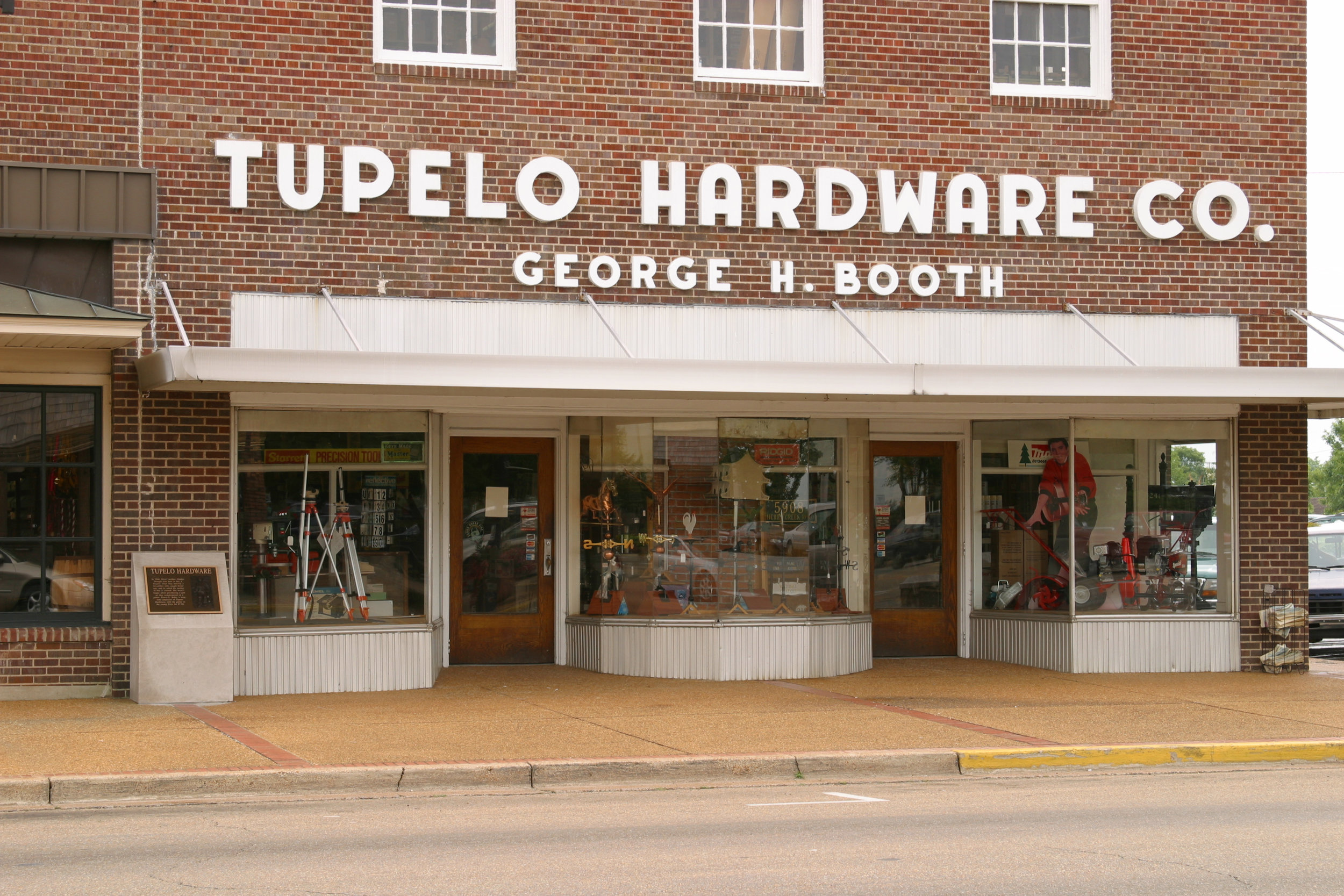 Tupelo Hardware Co., where Elvis purchased his first guitar