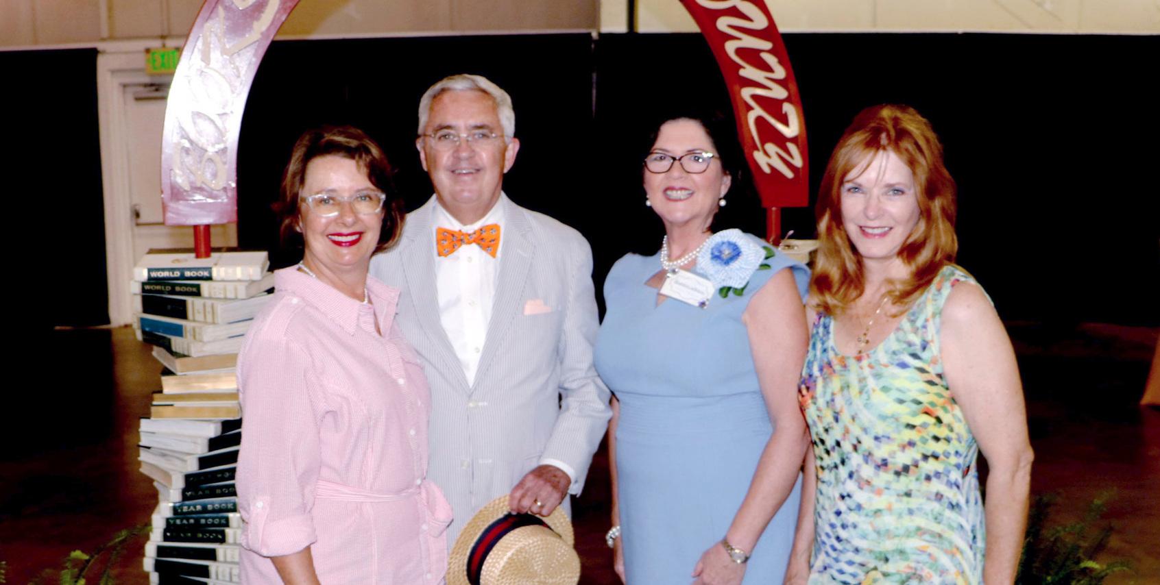 Claudia & Bill Haltom, Elaine Christian & Linda Climer Vince