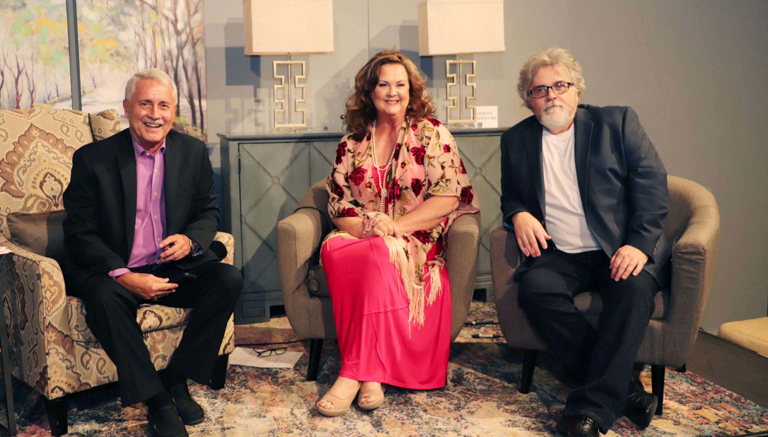 Tom Britt, Julie Cooke & Keith Sherley