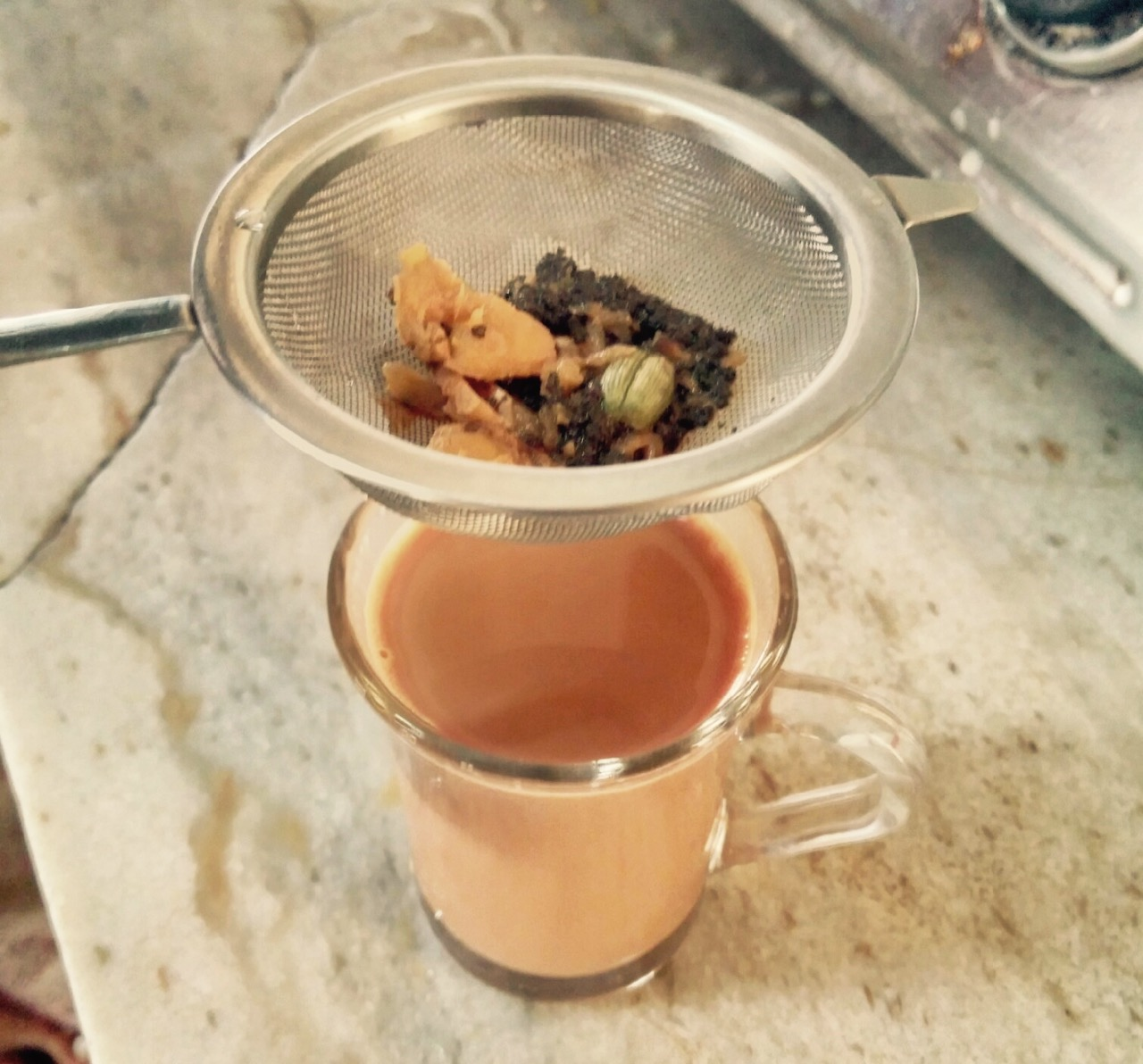 Traditional Masala Chai Strain and Enjoy