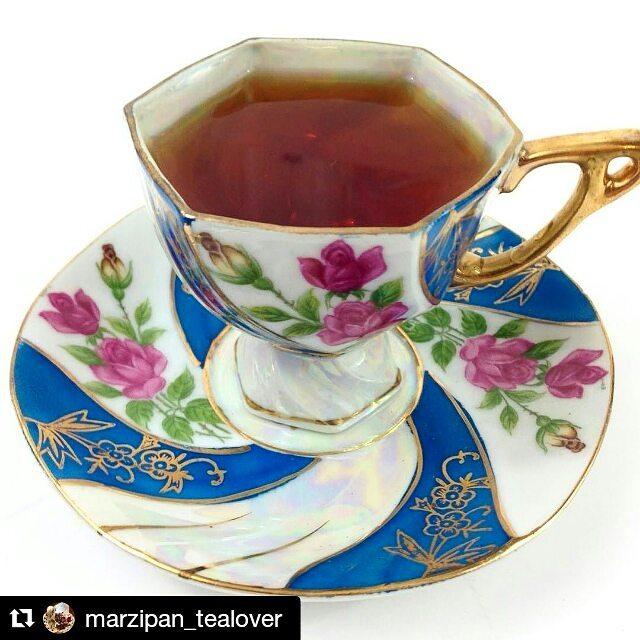 #Repost @marzipan_tealover ・・・ Today on tealover.net, Ghograjan Tea Estate's Assam Golden Tips #ghograjantea #tea #tealover #nom #teacup #assam