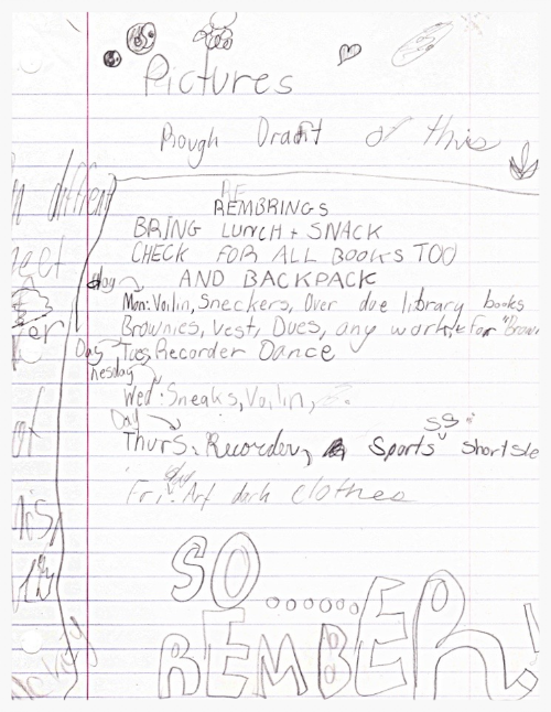 One of my first project plans, circa the mid-90s. -