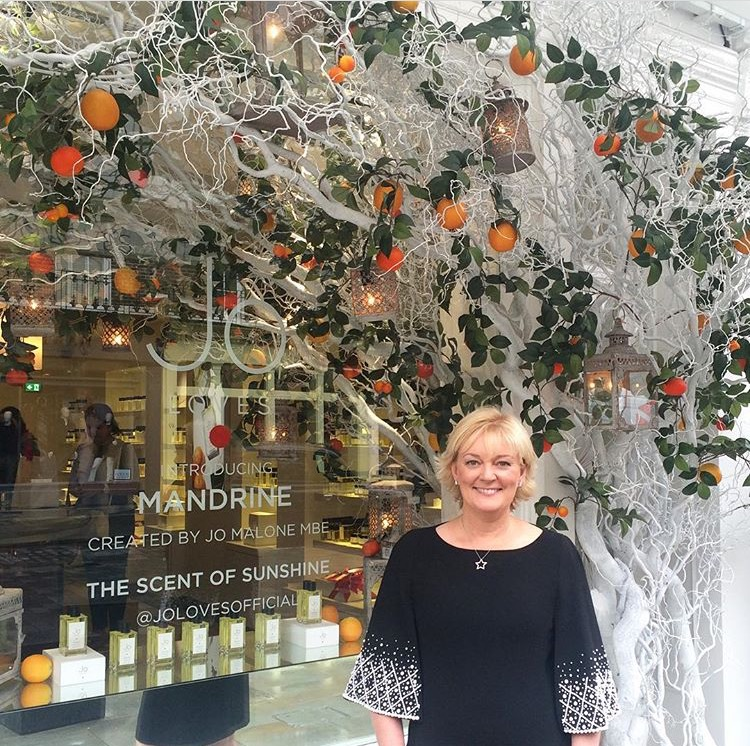 Picture of Jo Malone MBE(Image courtesy of @jolovesofficial)