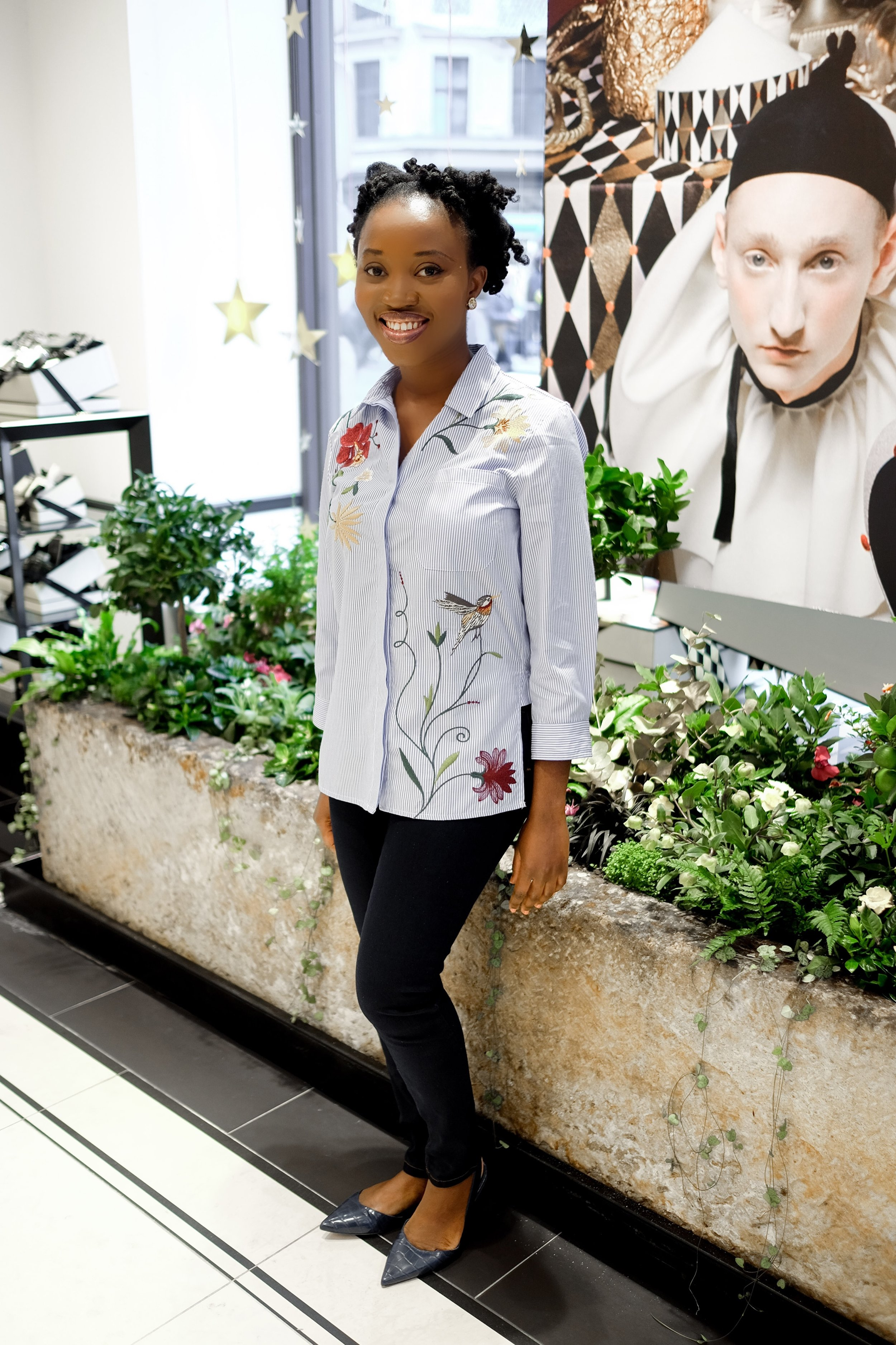 Me Angie at the Jo Malone London Regent Street shop