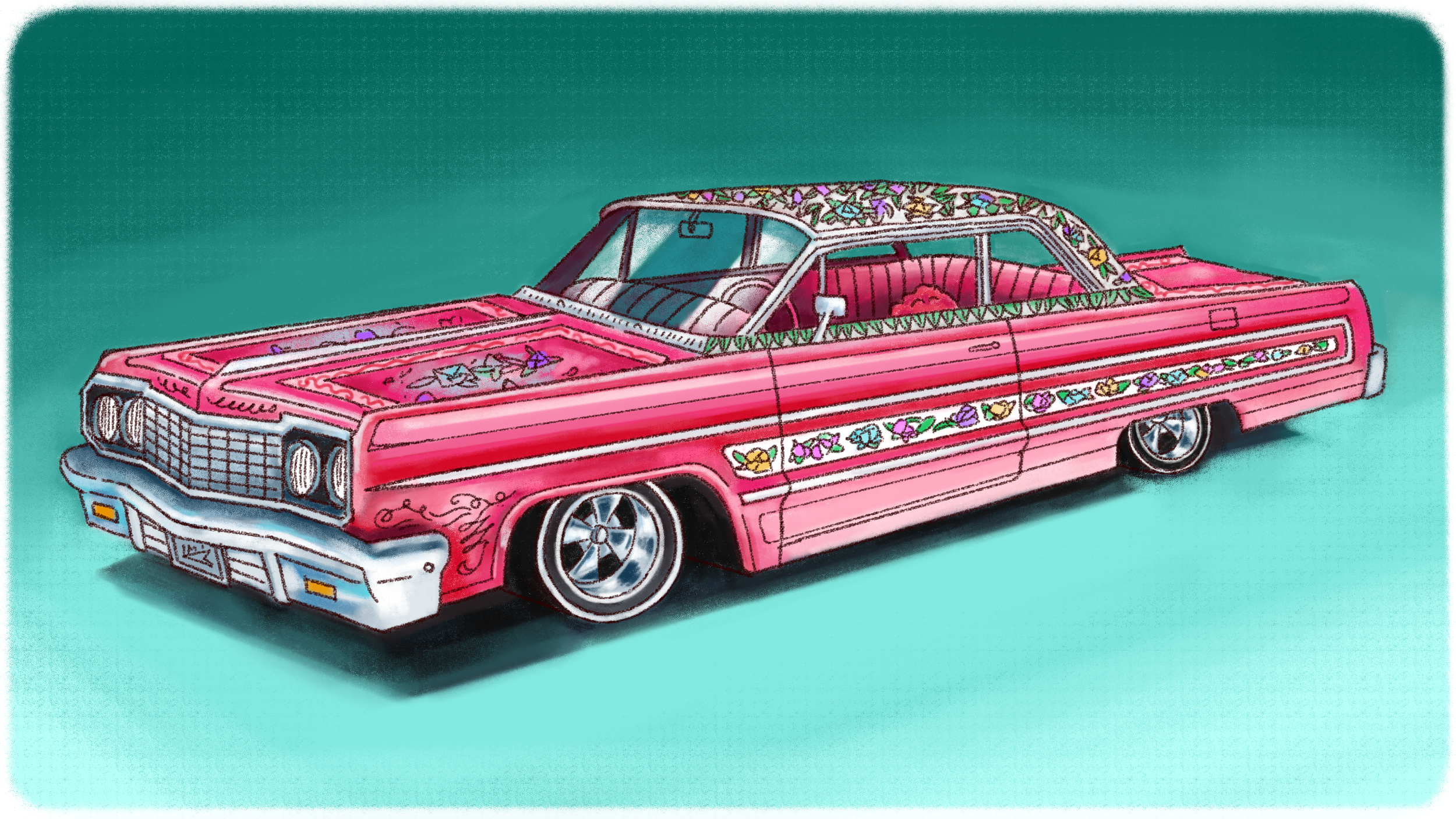 Hecho en México: Why Lowrider Murals Are So Insanely Detailed - Jalopnik - Lowriders