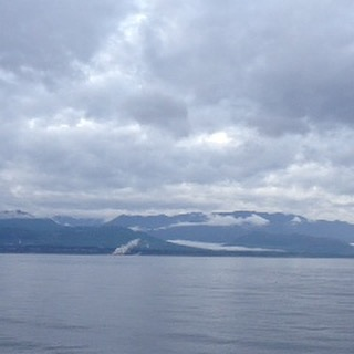 Coming to America via ferry from Victoria,BC, Canada to Port Angeles, WA.