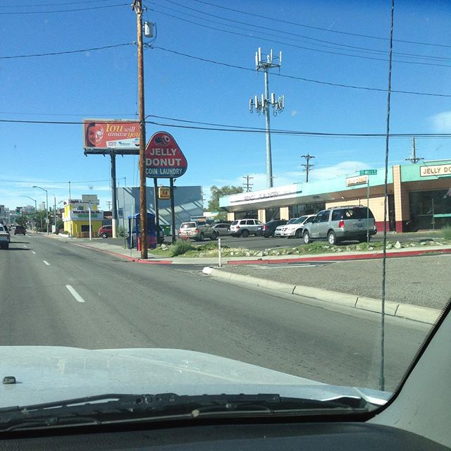 In Reno. It takes a dozen doughnuts to do one load? Really?