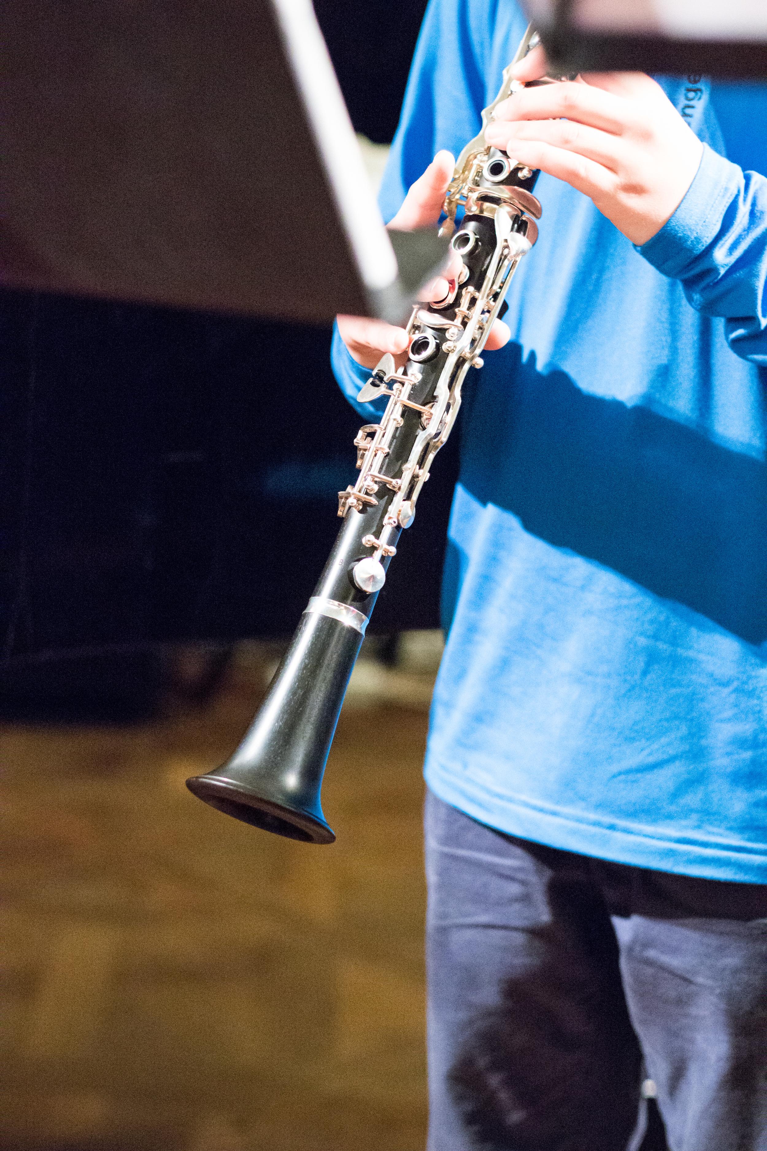 Klarinette spielen