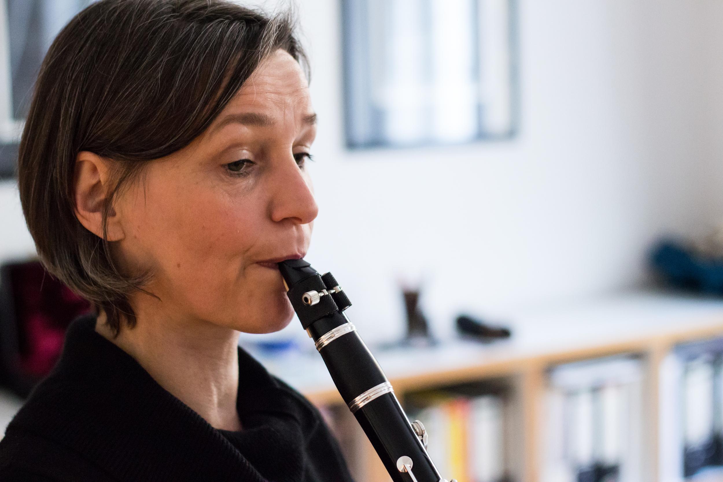 Klarinette lernen in Wien mit Regina Kaufmann