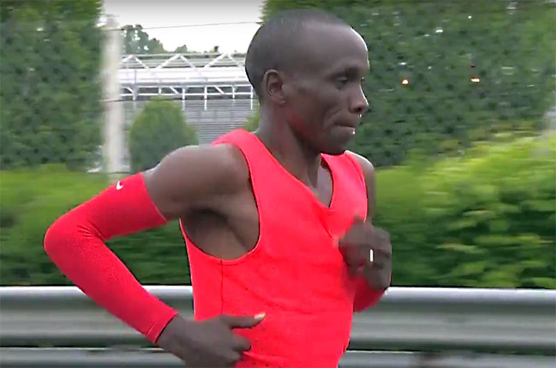 Screen grabs via  Nike video