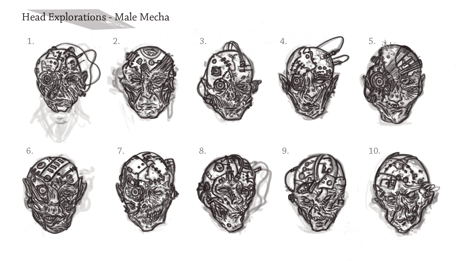 Male Mecha - Visual Development; Face Explorations.jpg