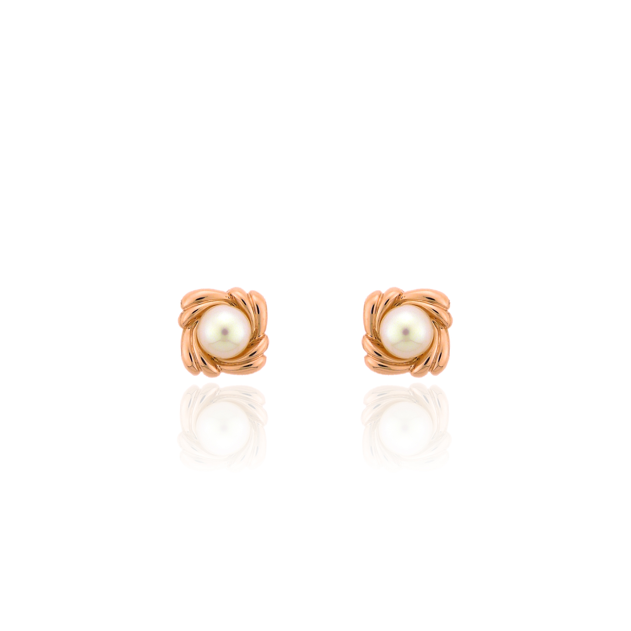 It's for everyday  - These are the perfect pair to wear everyday. It's the perfect mix of rose gold and a simple pearl for an everyday wear. They are 14K rose gold, 6 mm Akoya pearls. Like I said, perfect for everyday wear. If you want to be a little more extravagant check out the next pair of earrings that we just made! This simple pair can make any woman powerful but give them that extra feminine feel. Click on the image for more information.