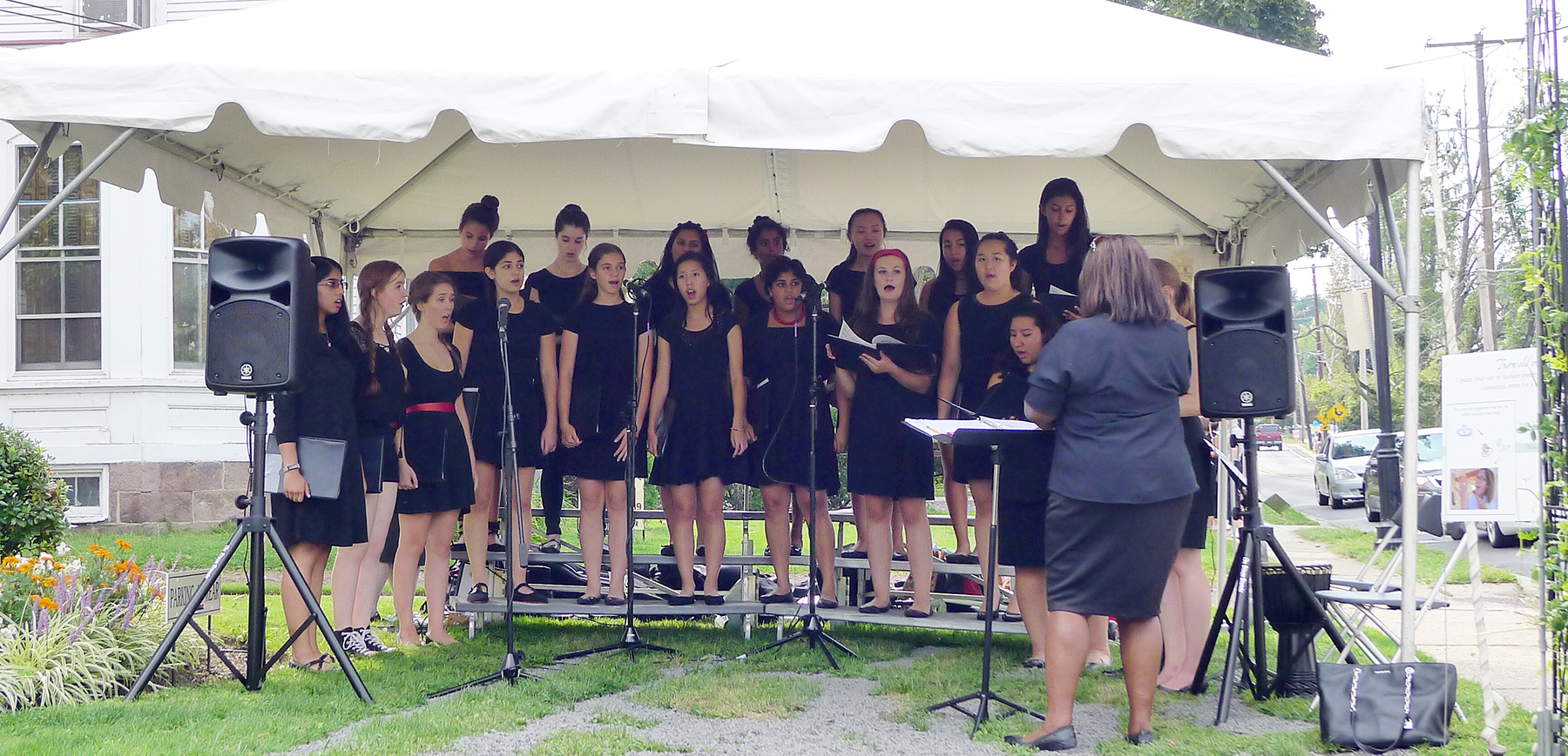 We featured the Princeton Girl Choir last year and their performance was amazing!