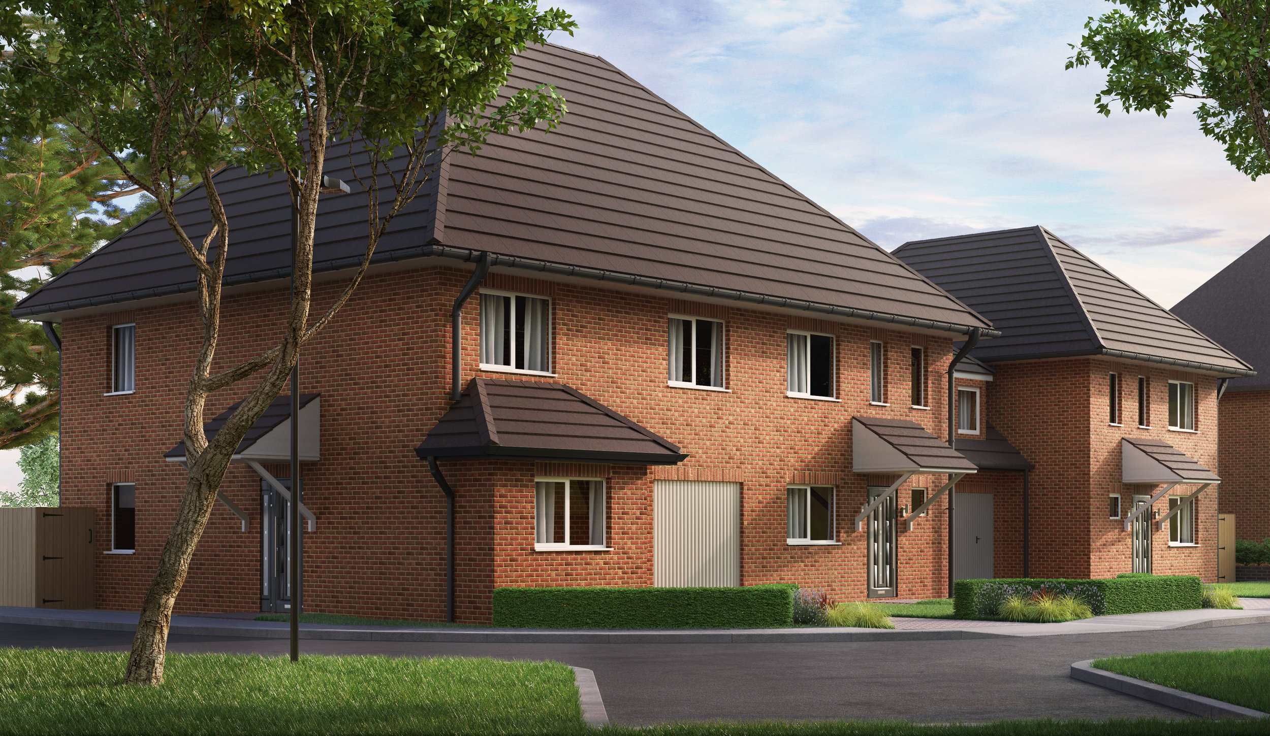 CGI Street Scene - Architectural Visualisation in Watford.jpg