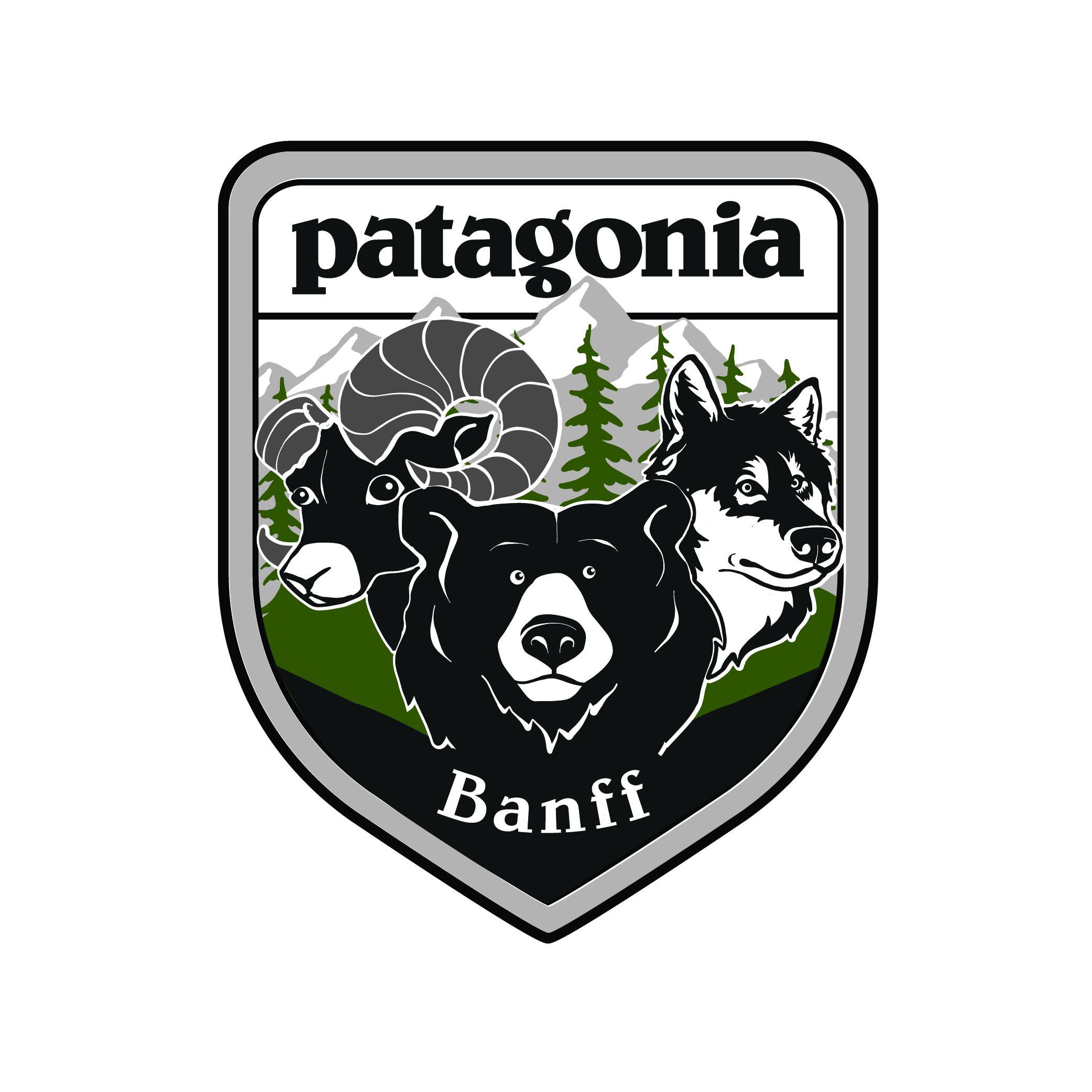 Patagonia Banff - Patch Design