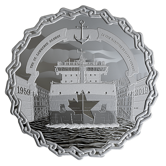 60 Years of Prominence: The St. Lawrence Seaway - Coin Design for the Royal Canadian Mint