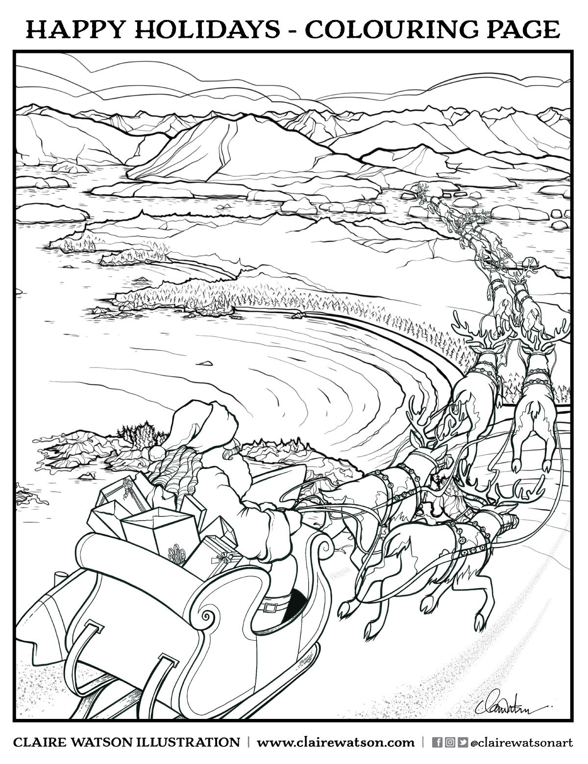 49 Best Ocean coloring pages images | Coloring pages, Ocean ... | 1299x1000