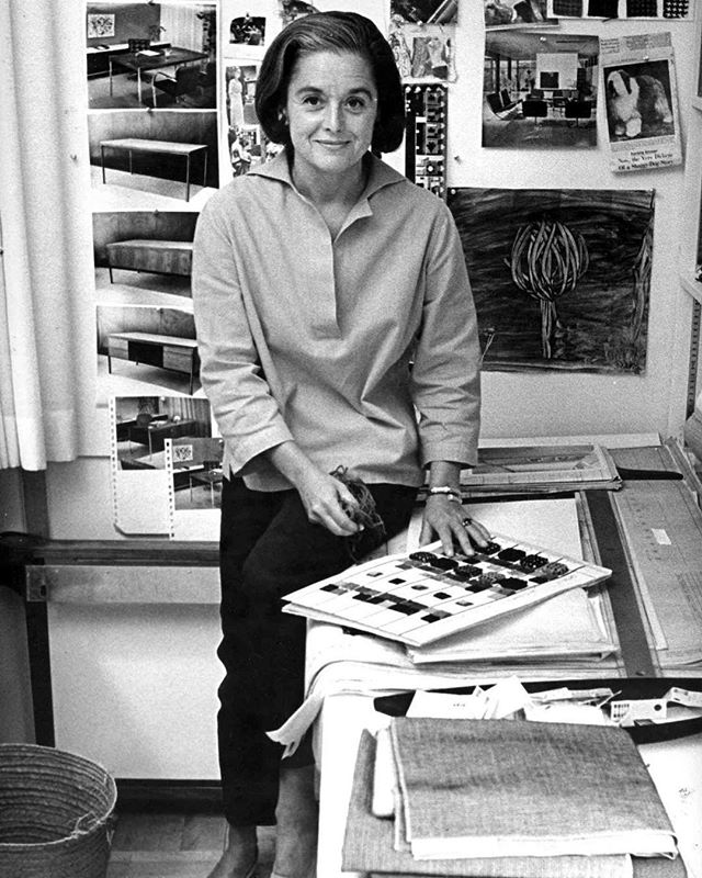 Florence Knoll Bassett passed away yesterday at 101 years old. She transformed the way we work today, the environments in which we live and sit and stand and think and design. Florence was trained by Bauhaus greats, was a part of the the Saarinen family, was educated at Cranbrook, and earned a bachelors degree in architecture from the Armour Institute of Technology (now IIT). She was the creative force at Knoll at the peak of the mid-century, and redefined the modern work place. #titan