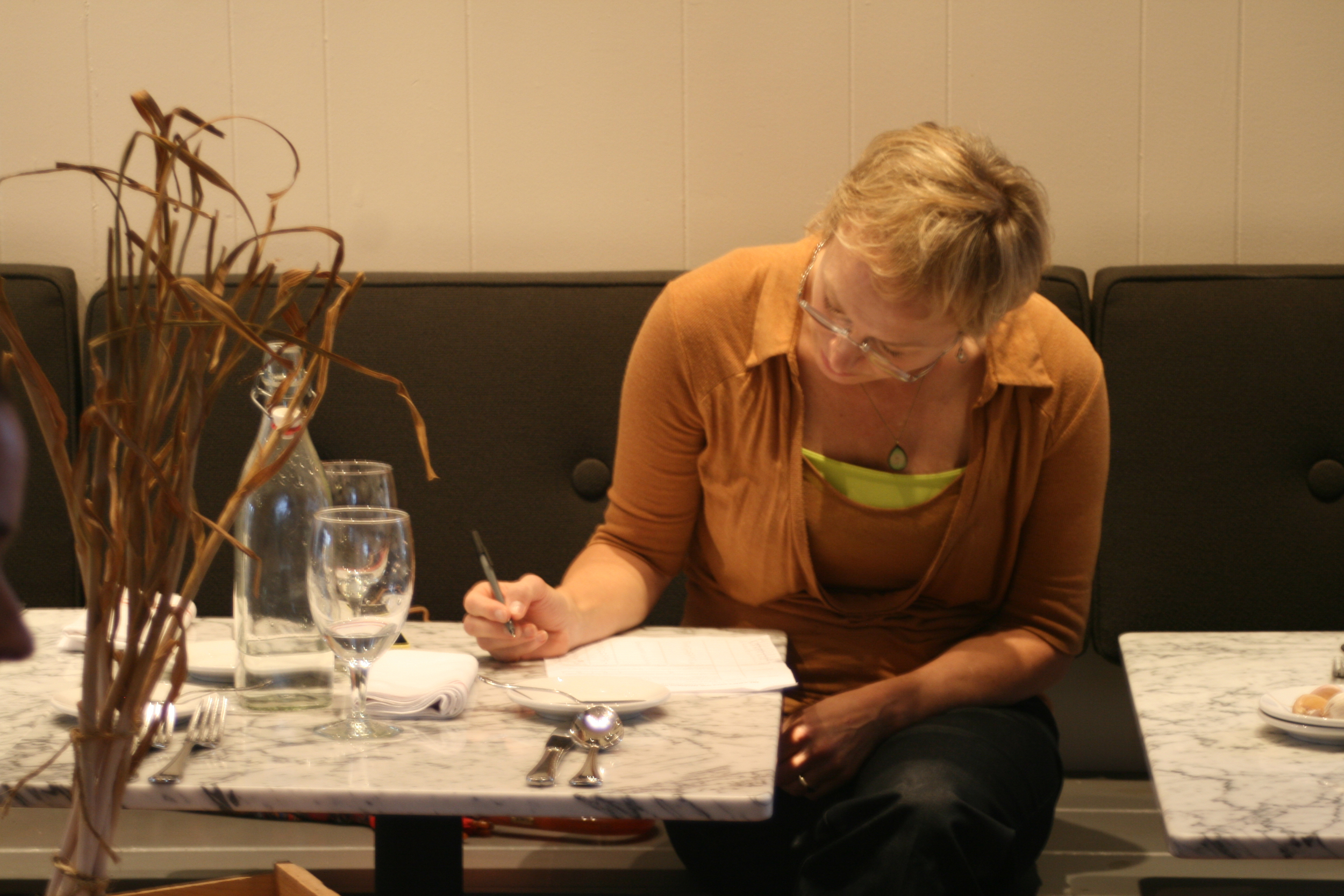 Kate Pearson, judging for the 2014 auction