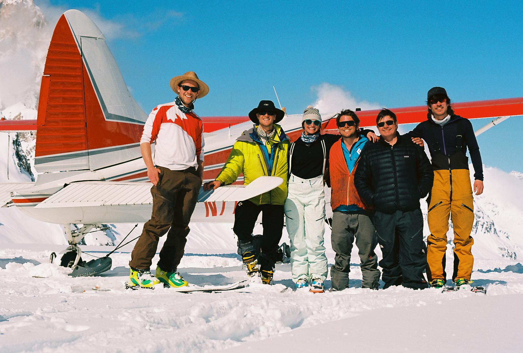 Tad (left) and crew
