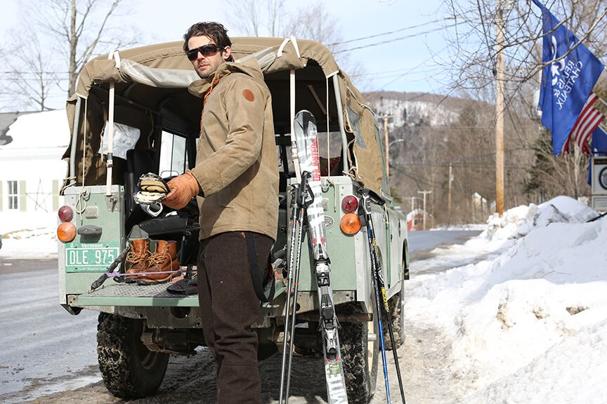 On Location in Warren, Vermont. Photo: Shem Roose