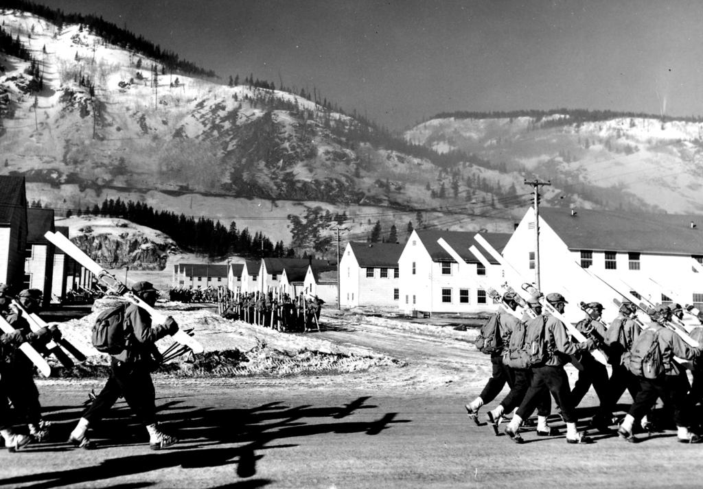 Soldiers Train at Camp Hale, Colorado