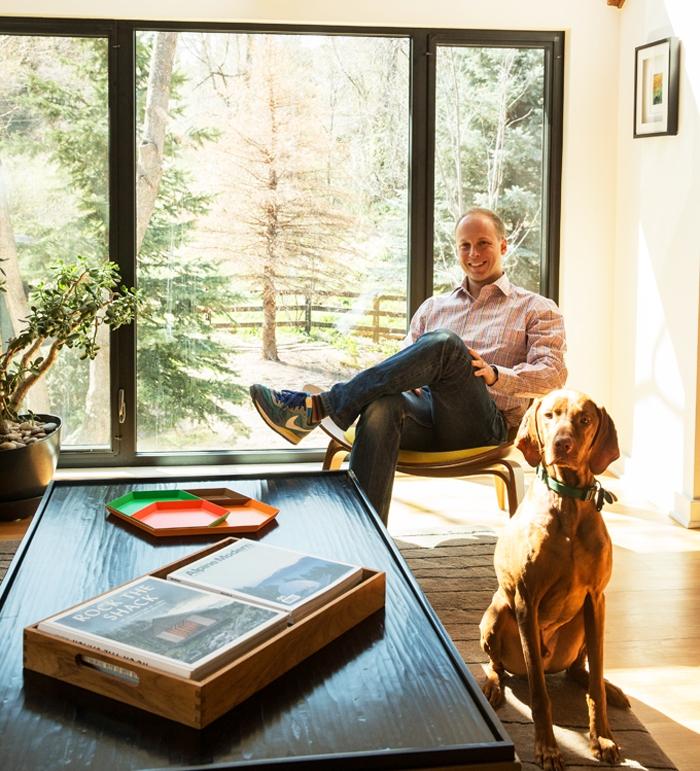 Alpine Modern Founder Lon McGowan in his Boulder shop.