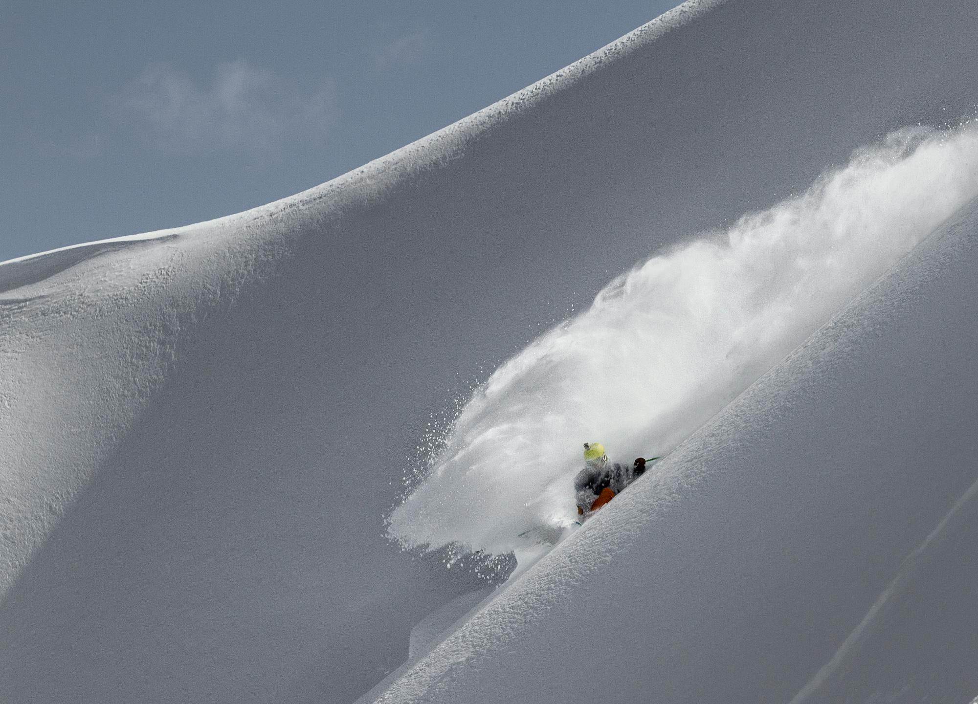 Photo: Justin McCarty Skier: Chris Grabher