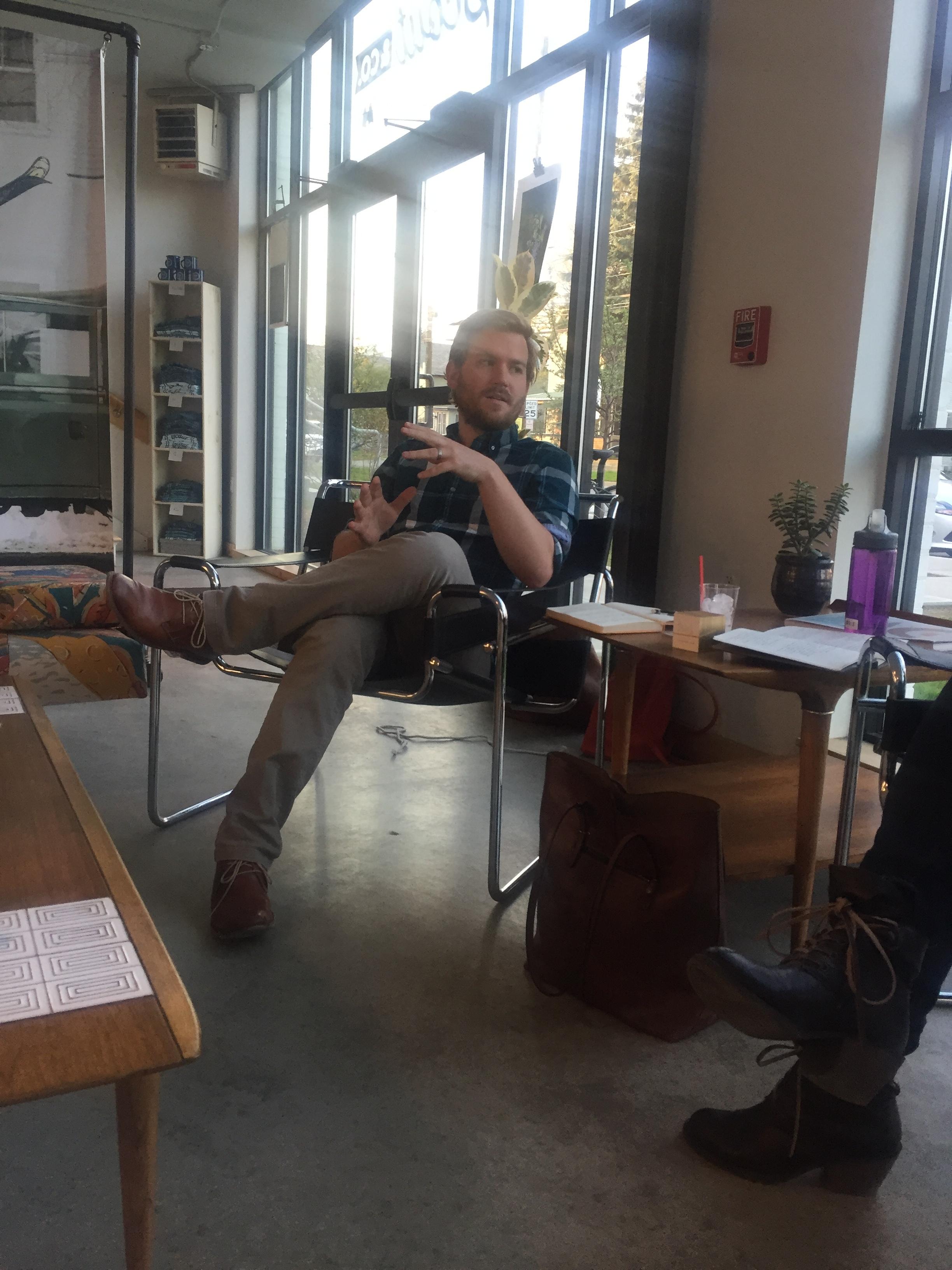 Ian Johnson of Birdwalk Press