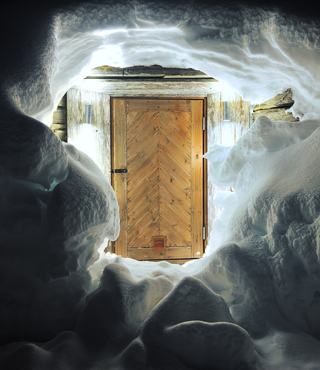 The Fäviken root cellar stores preserved fruits,root vegetables, and pickling experiments through the depths of the Swedish winter.