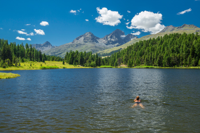 The stunningly peaceful Lake Staz