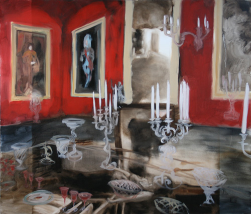 """Chatsworth 1""  2011, oil on canvas, 130 x 112 cm"