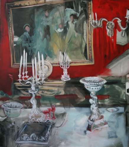 """Chatsworth 2""  2011, oil on canvas, 112 x 130 cm"