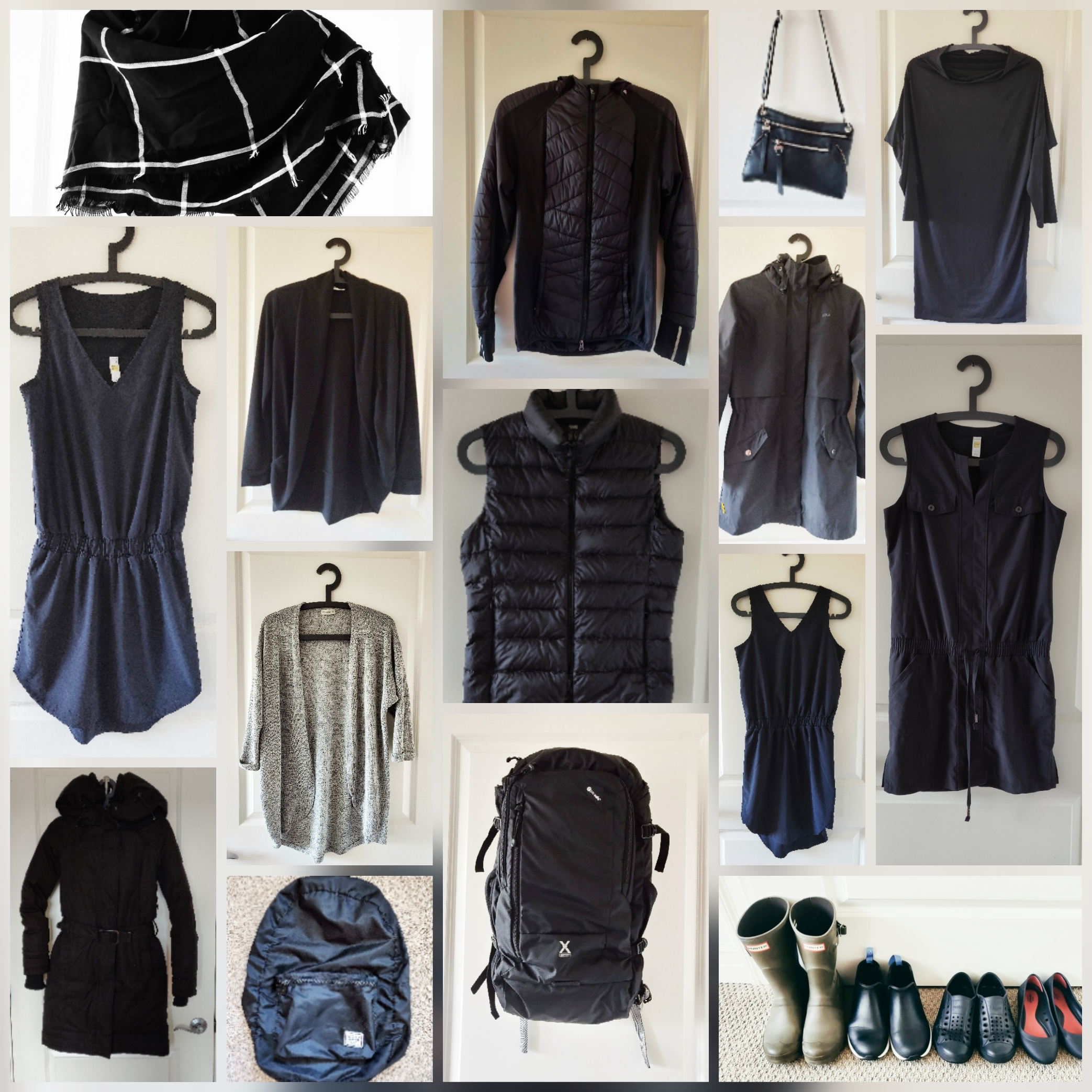 Did you notice that there are only 18 items shown in the picture? See that dress with a drawstring? I have two of those.
