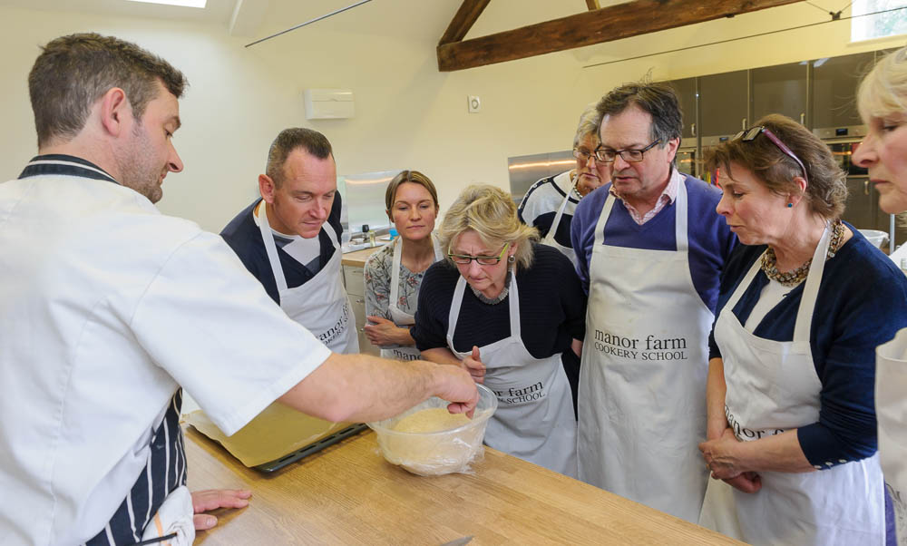 Classes for all at Manor Farm Cookery School