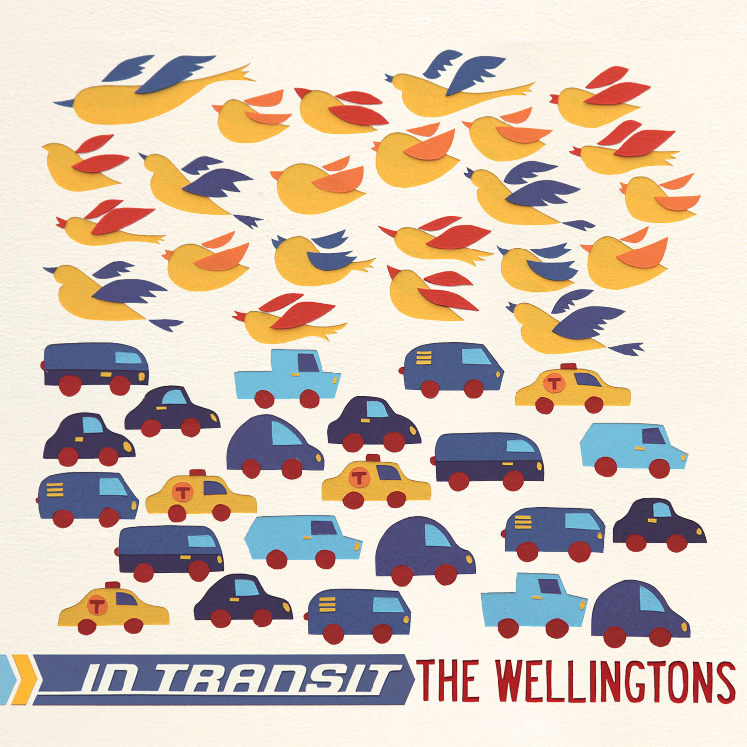 "ZIP073, 2011 | The Wellingtons ""In Transit"""