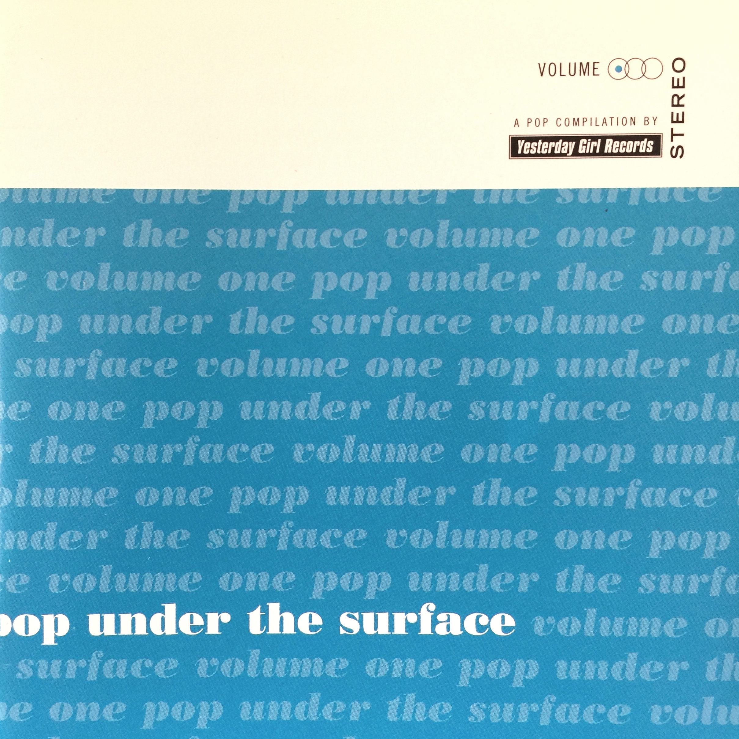 YES001, 1997 | Pop Under The Surface, Volume 1