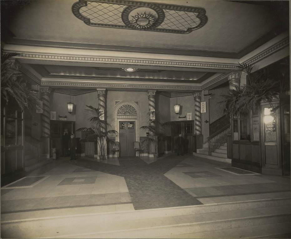 Interior of the Savoy Cinema, 1930s
