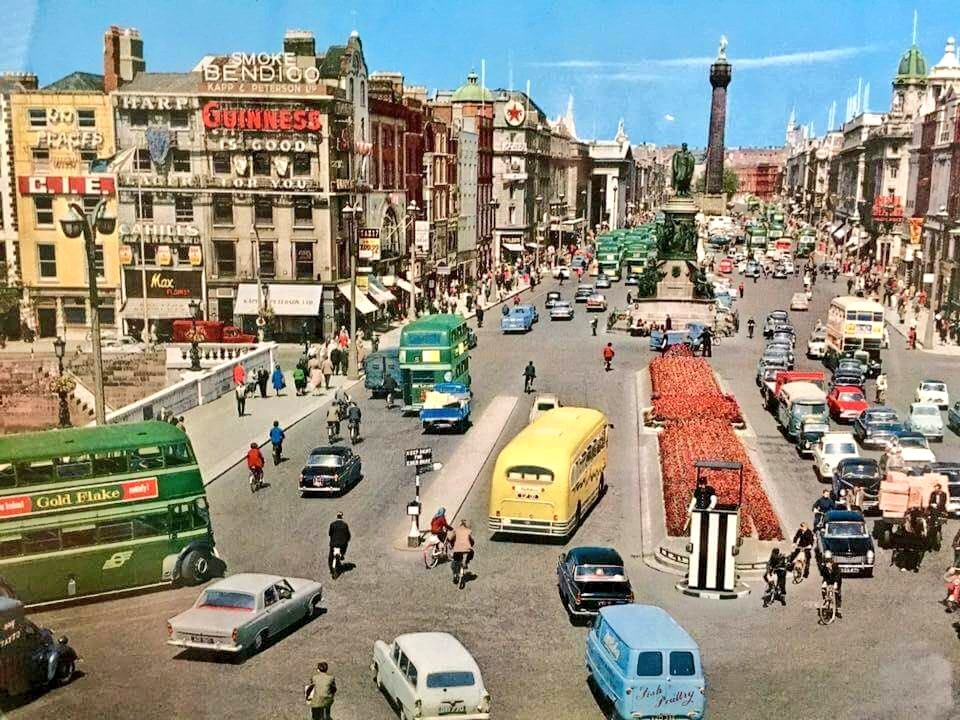 O'Connell Bridge, early 1960s
