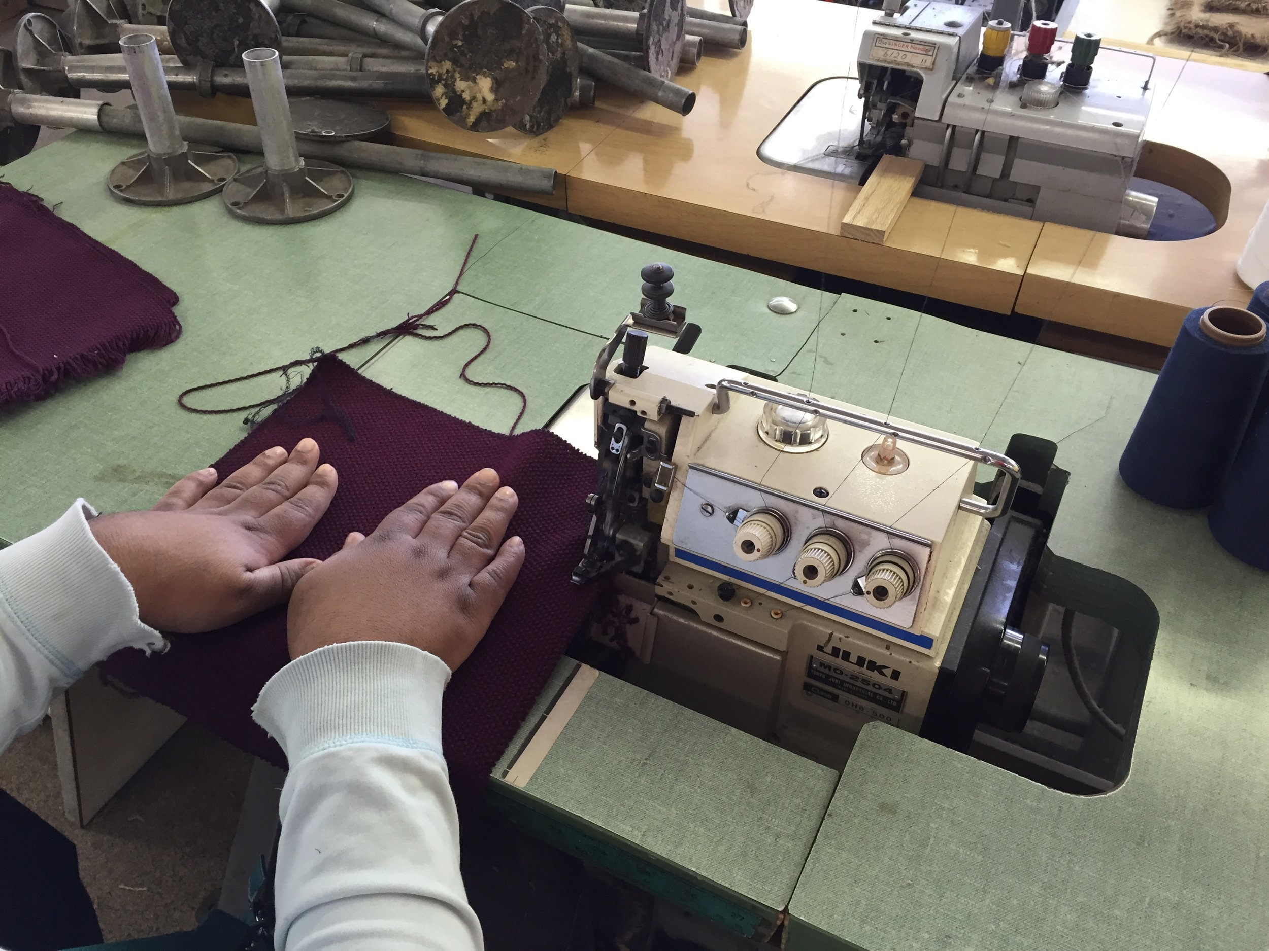 Using the serger