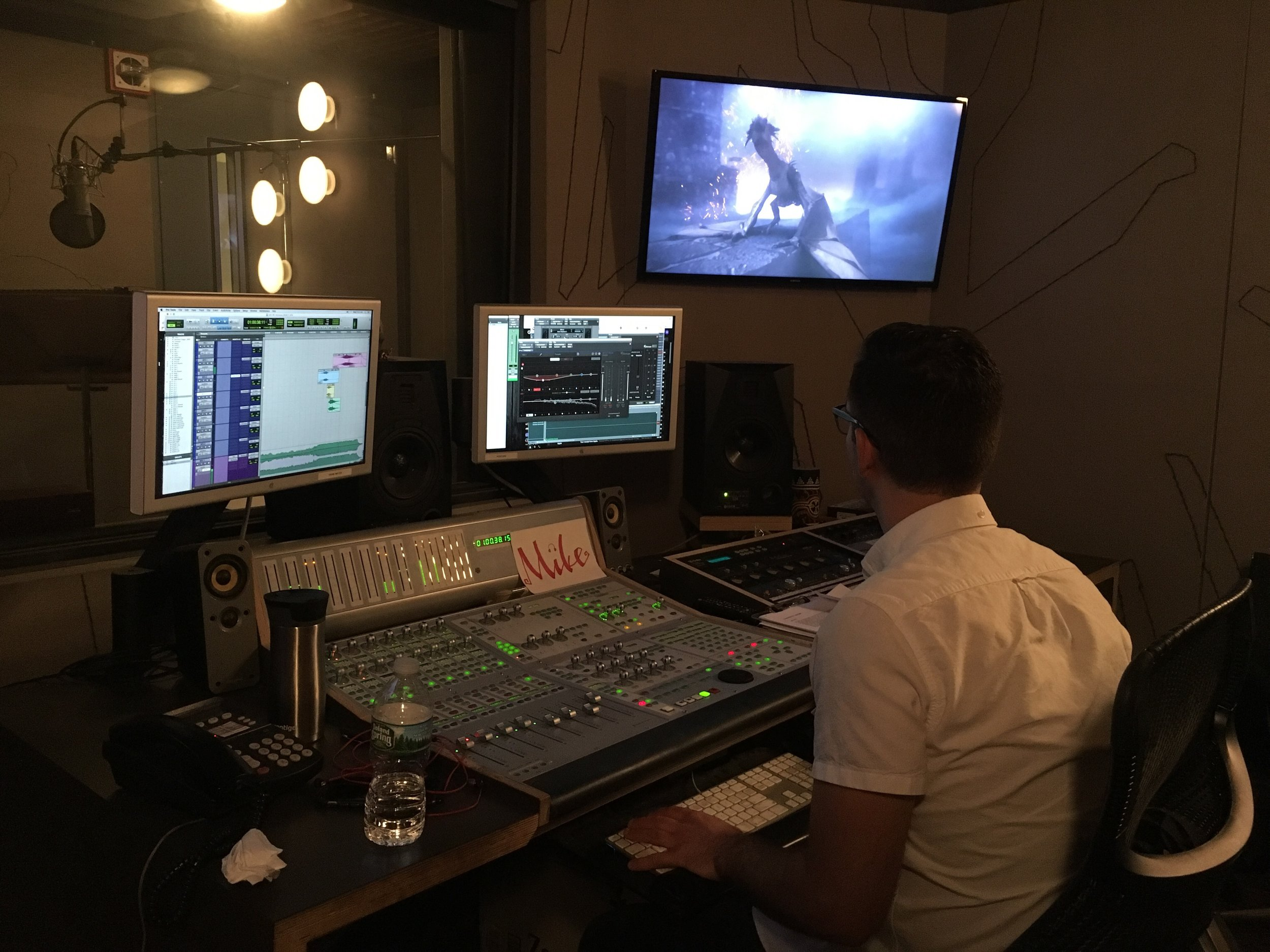Final Audio Mix - Mike Jansson took this project to another level with some sound design and a final mix.