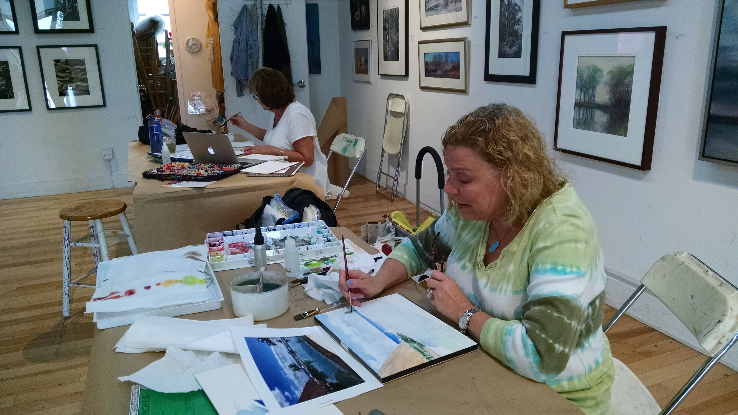 Watercolor Enhanced at The Art Center, HP - Wednesdays, April 5- May 31, 20171:00 – 3:30 p.m. (8 sessions)1957 Sheridan Rd., Highland Park, IllinoisCall 847-432-1888 to register or click hereHow do we enhance our watercolor paintings? With colored pencils, watercolor pencils, pastel and pen, we will make our paintings