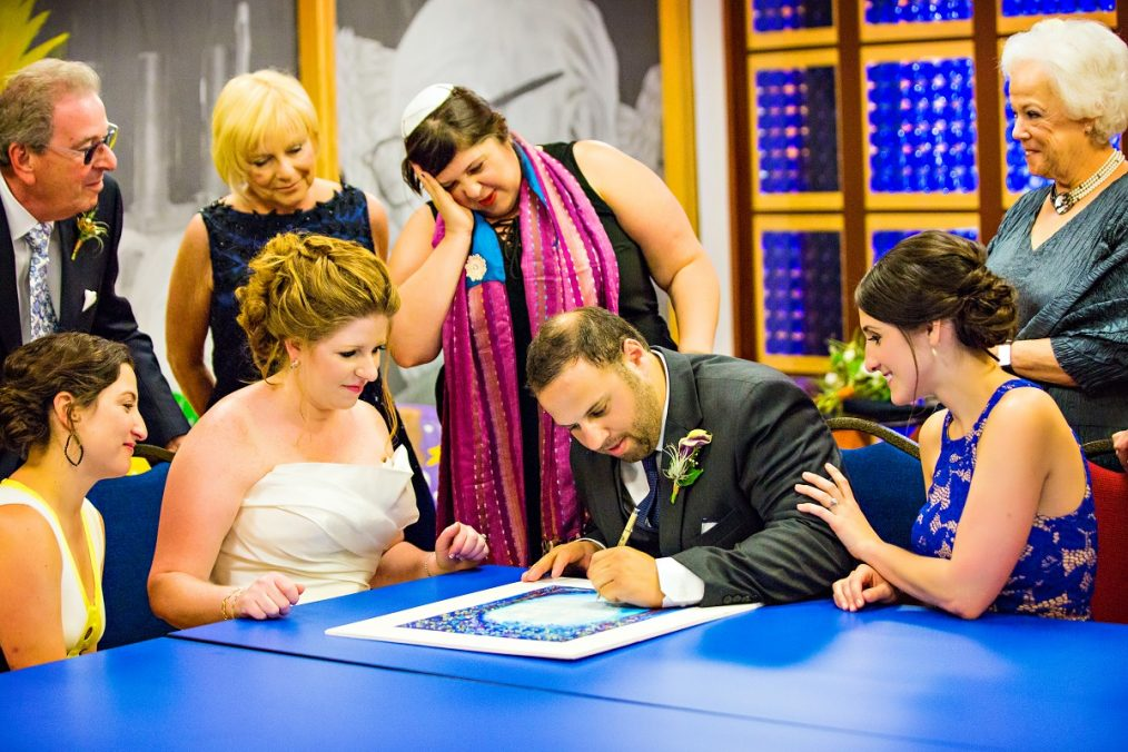 11-AVAM-Baltimore-wedding-by-Bellwether-Events-American-VIsionary-Arts-Museum-Jewish-ceremony.jpg