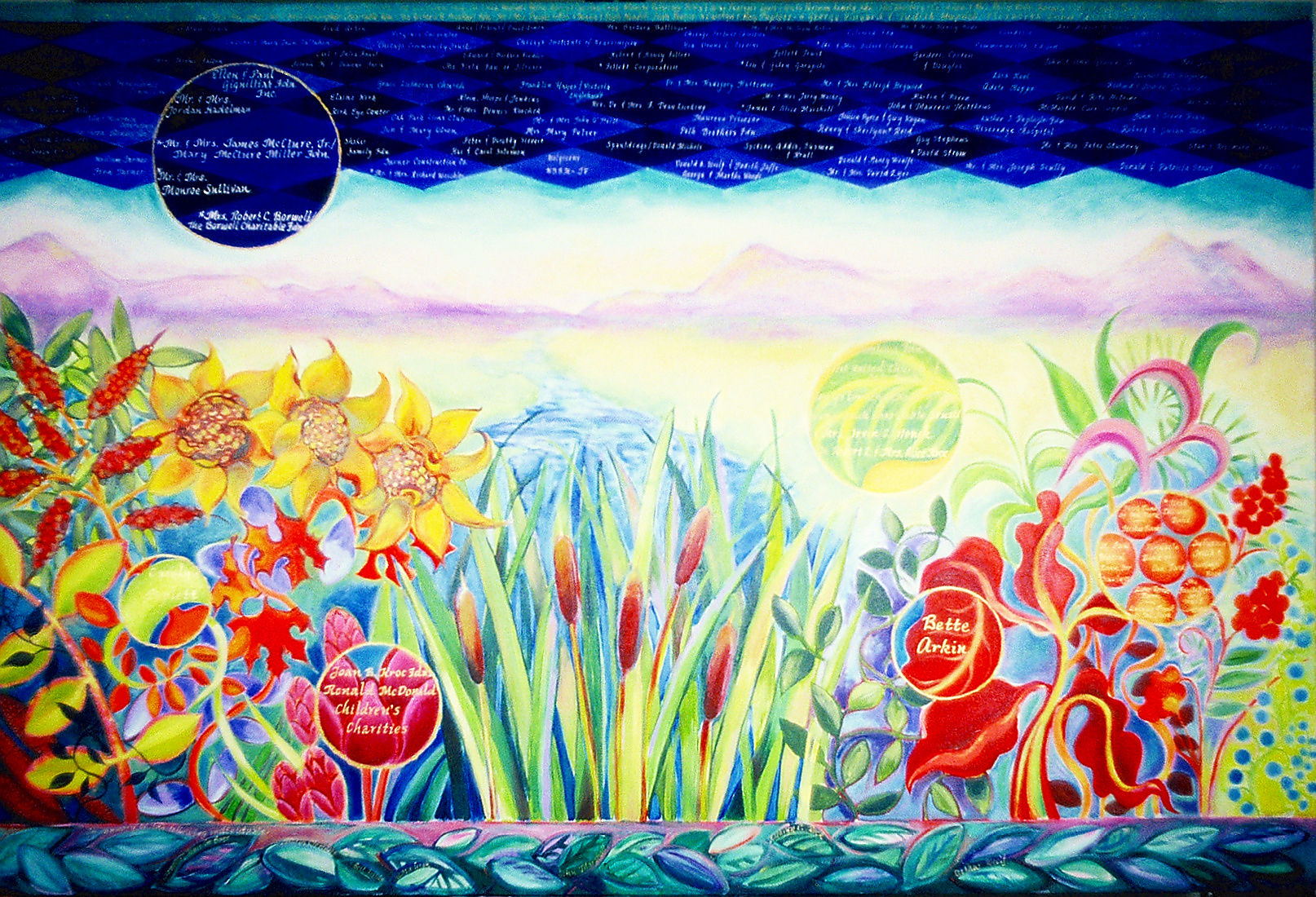 Donor Painting for Family Service of Oak Park/ River Forest