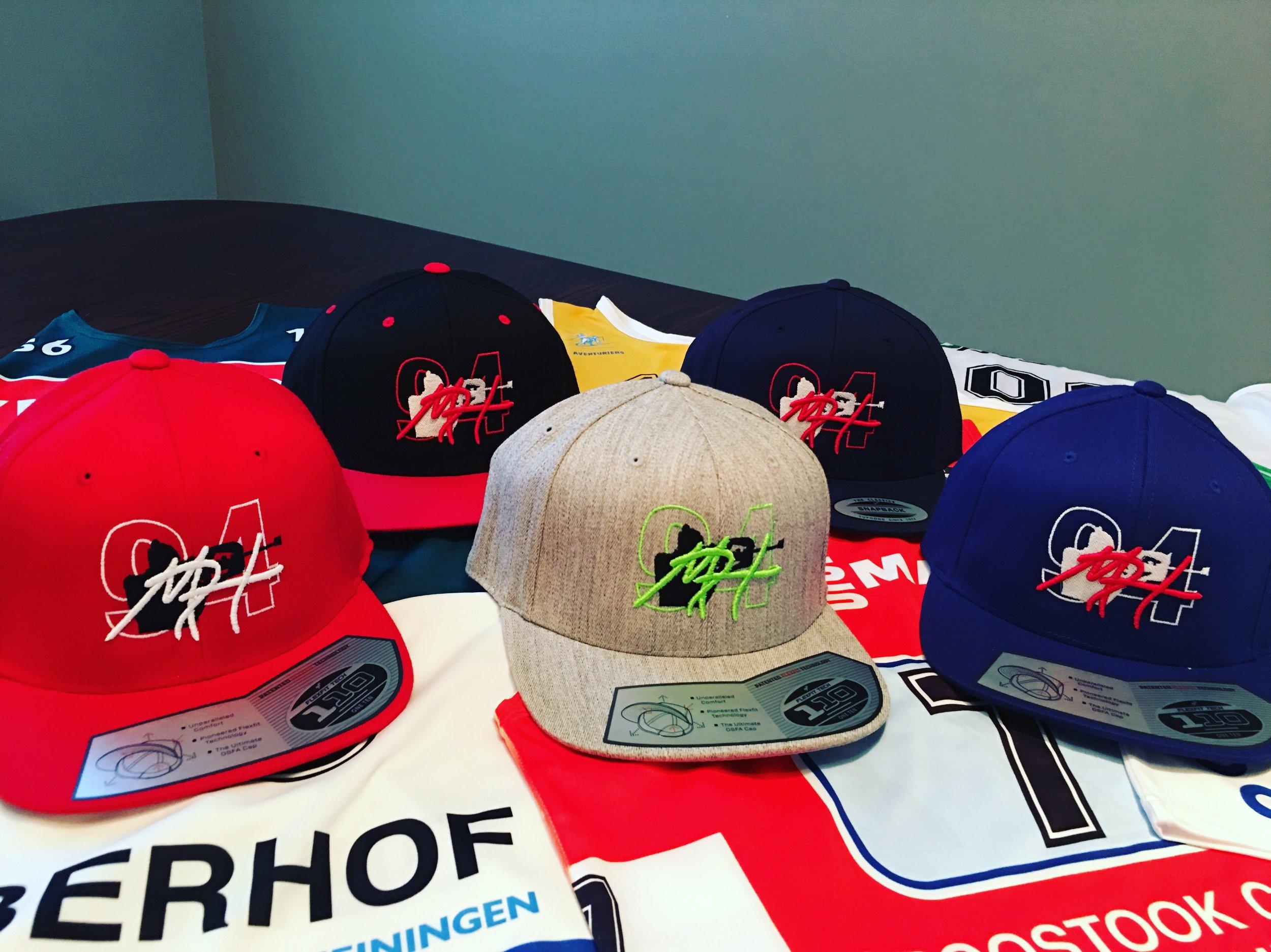Matt Hudec designed hats