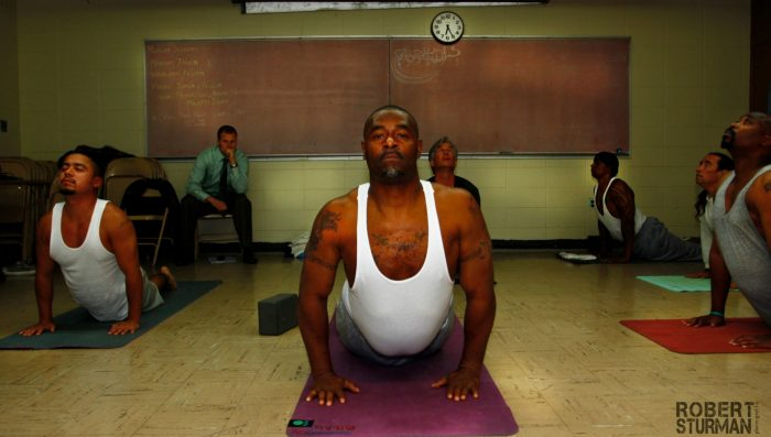 Prison yoga better fathers by Andrea Rice