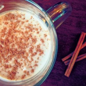 Coconog: Coconut milk eggno g