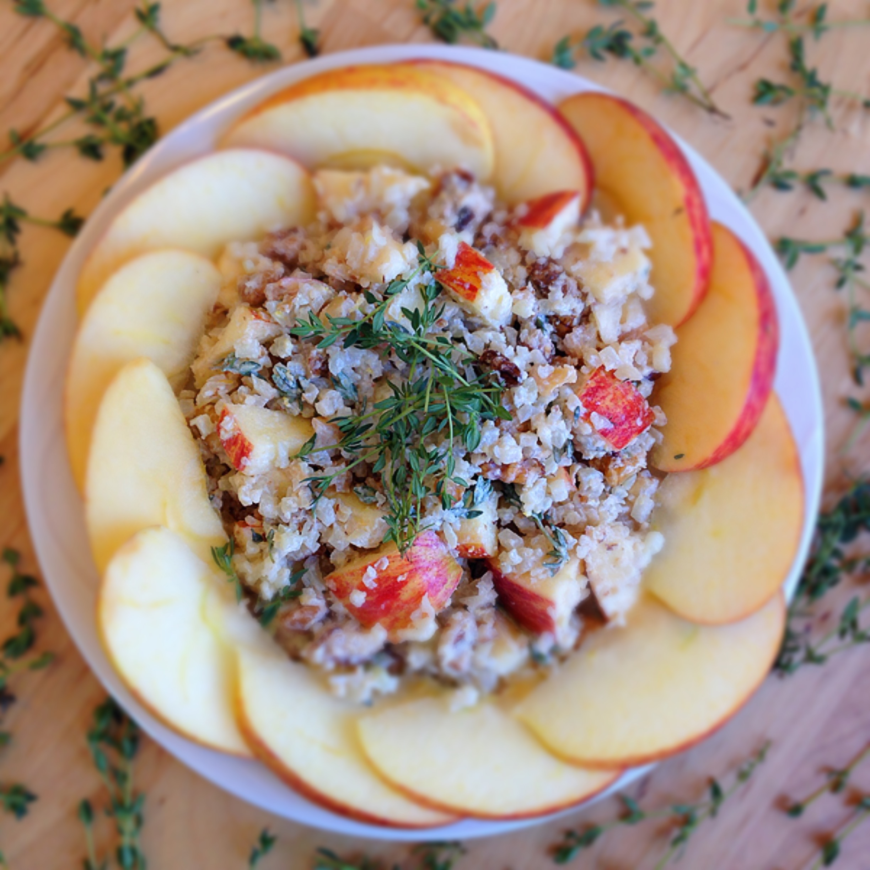 Cauliflower Waldorf Salad